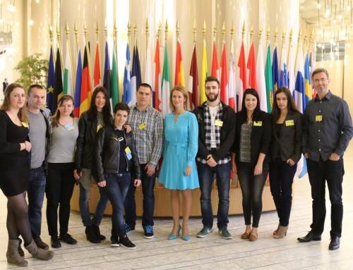 Studijski posjet Europskom parlamentu u Strasbourgu