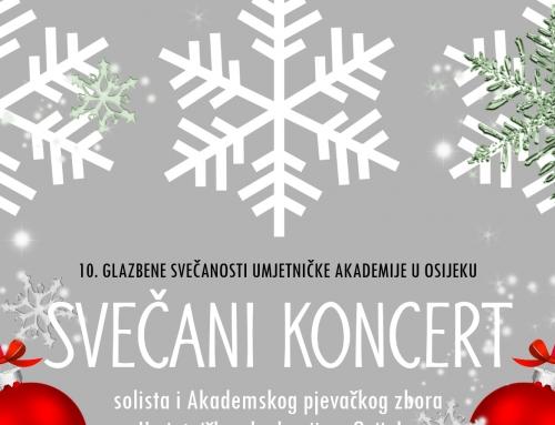 Koncert solista i Akademskog pjevačkog zbora Umjetničke akademije