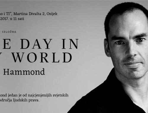Robin Hammond, svjetski poznati fotograf, izložba i predavanje u Osijeku