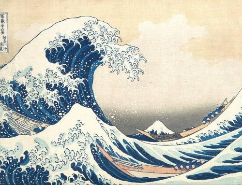 Hokusai, plavetnilo vala i slikarstvo 20. stoljeća