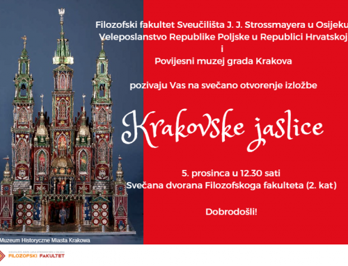"Otvorenje izložbe ""Krakovske jaslice"""