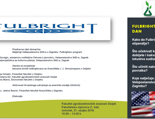 Fulbright info day na FAZOS-u