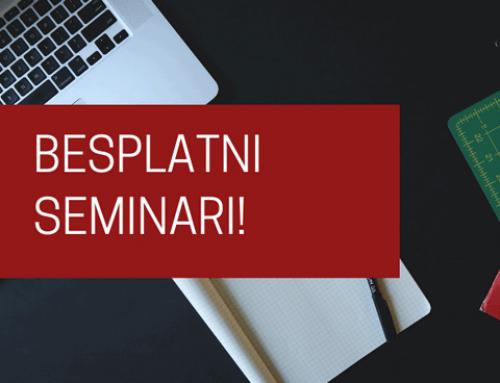 Besplatni seminari, Edunova-ustanova za obrazovanje odraslih