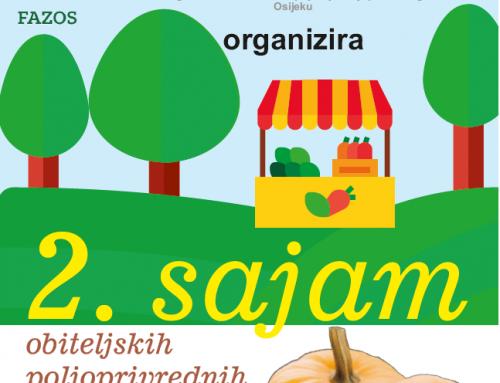 2. sajam OPG-ova u organizaciji Fakulteta agrobiotehničkih znanosti Osijek – FAZOS