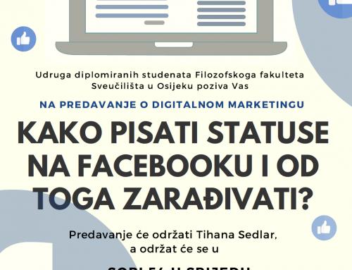 Kako pisati statuse na Facebooku i od toga zarađivati?